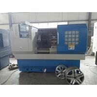 China cnc alloy wheel repair lathe machine CK6166A with automatic detection and diamond cutting on sale