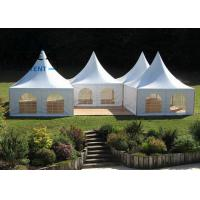 Marquee Pagoda Canopy Tent With Anodized High Reinforced Aluminum Structure Manufactures