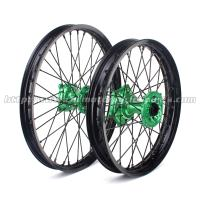 Aluminum Alloy Black Custom Motorcycle Wheel Hubs For Kawasaki KX 125 250 Manufactures