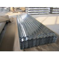 SGCC, G550, JIS G3302 steel Regular Spangle Galvanized Corrugated Roofing Sheet / Sheets Manufactures