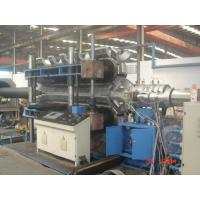Automatic PE / PVC Double Wall Corrugated Pipe Machine PLC control system Manufactures