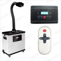 Quality M6001DW Digital Nail Salon Fume Extractor / White Color Medical Portable Smoke Extractor 80W for sale