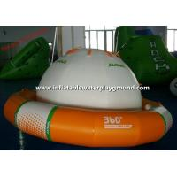 4 People Kids Inflatable Saturn Rocker , Small Inflatable Orbit For Sea Park Manufactures