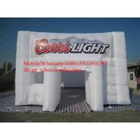 Popular gaint inflatable tents / inflatable cube tent Advertising Inflatable Tent Manufactures