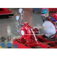 China 750GPM@120PSI Fire Fighting Water Pump With With Air / Water Cooling Method on sale