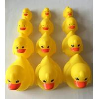 Quality Yellow Floating Carnival Baby Rubber Duck Water Resistant With Magnecti Connector for sale