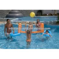 School Tarpaulin Inflatable Sports Games , Volleyball Court / Volleyball Sporting Manufactures