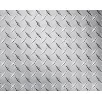 Embossed High Glossy Aluminium Checker Plate 12000mm Length For Interior Decorating Manufactures