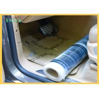 Strong Adhesive Strength Auto Carpet PE Protective Film For All Kind Of Cars Manufactures