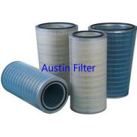 Buy cheap DN 324x 660mm height Gas turbine pleated filter cartridge filter element from wholesalers