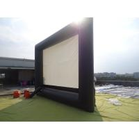 Commercial Outdoor Inflatable Movie Screen / Movie Screen For Festival Manufactures