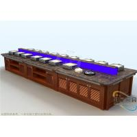 Commercial Buffet Equipment  Marble Top Chafing Dish Hot Display Buffet Manufactures