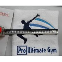 Lowest price small MOQ custom design sport towel personalized sport towel logo towel