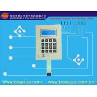 Double Side texture glossy PET / Flexible PCB Membrane Key Switches 1.2 MM Manufactures