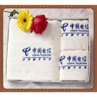 Logo Embroidery Small White Cotton Face Towels Promotional Gift Towels Manufactures