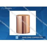 Customized Red RA Copper Foil For Shielding , rolled copper foil sheet for sale