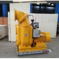 China Non Clog Sewage Centrifugal Self Priming Water Pump With 2 Wheels Trailer on sale