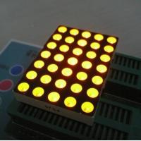 5mm 5x7 Dot Matrix Led Display Ultra Bright Yellow Widely for Moving Signs Manufactures
