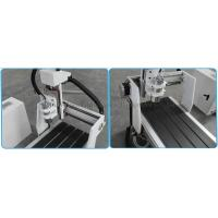 1.5kw water cooling spindle & Aluminum slot working table & gantry moving type