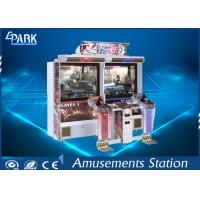 6 Stage Shooting Arcade Machines Dynamic Gun HD LCD Screen For Children Manufactures