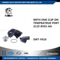 Coolant Outlet Flange Thermostat Housing Assembly WITH ONE CLIP ON TEMPRATRUE PORT 2L2Z-8592-AA for FORD Manufactures