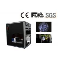 Professional 3D Glass Crystal  Laser Engraving Machine , Made in China Manufactures