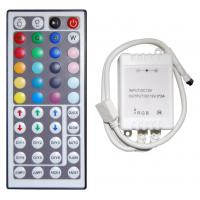 China Led Controller 44 Keys LED IR RGB Controler LED Lights Controller IR Remote Dimmer DC12V 6A For RGB SMD 3528 5050 LED on sale