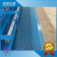 4m Knuckle Edge Chain Link Fence Equipment Weaving Diameter Φ1.4mm - Φ4.5mm Manufactures