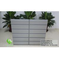 Architectural Facade System Aluminium Wall Cladding Panels Powder Coated Waterproof Manufactures