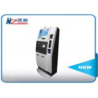 Quality 22 inch interactive information kiosk with POS terminal intergrated for sale