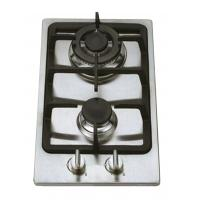 Stainless Steel 2 Burner Gas Hob Wind Proof , Double Burner Gas Cooker Manufactures