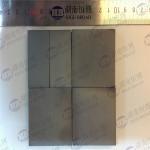 Black Color Bullet Proof Ceramic Hexagon Tile , Silicon Carbide Armor Tiles Manufactures