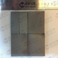 Black Color Bullet Proof Ceramic Hexagon Tile , Silicon Carbide Armor Tiles Manufactures