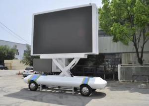 SMD2525 1R1G1B P4 Trailer Outdoor Mobile Led Screen Manufactures