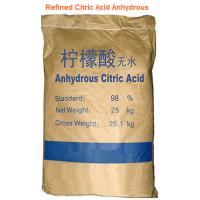 Auhydrous Citric Acid Manufactures