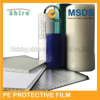 Quality Plastic Panel Hard Surface Protection Film Polyethylene Protective Tape No Bubble for sale
