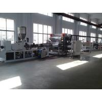 50HZ Full Automatic PVC Foam Board Extrusion Line With Siemens Contactor Manufactures