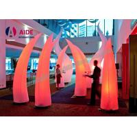 3M High Inflatable Lighting Decoration With LED Light and Blower Air Cone For Event Welcome part Manufactures