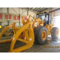 4x4 ATV Log Loader , 12 Ton Hydraulic Log Grapple Loader With Air Conditioner Manufactures