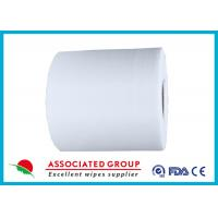 Customized Non Woven Roll , Pearl Dot Spunlace Nonwoven Fabric Ventilating Manufactures