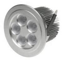 Neutral White IP54 400lm High Efficiency CE ROHS 5w dimmable led ceiling lights Manufactures