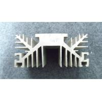 T3 - T8 Temper 6000 Series Aluminum Extrusion Heat Sink With Forgings / Laser Cutting Manufactures