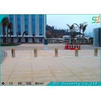 Automotive Steel Electronic Barriers Hydraulic Bollards For Security Manufactures