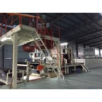 Bitumen Carpet Tile Production Line Touch Screen With Hot - Air Circulation Oven Manufactures