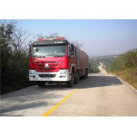 Quality Max Power 309KW Fire Rescue Vehicles , Approach Angle 16° Industrial Fire Truck for sale