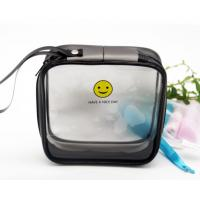 Clear Plastic EVA Cosmetic Bag , Customized Plastic Makeup Bag With 15*15*6 CM Manufactures