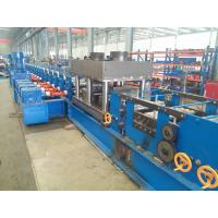 U Section Post Roll Forming Machinery Match With Guardrail With Punching Devices Manufactures