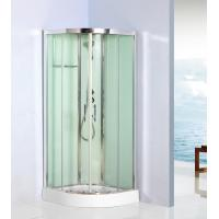 Quality Curved Corner Shower Units Free Standing Shower Cubicles For Small Bathrooms for sale