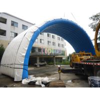 Durable Inflatable Dome Tent / Inflatable Event Tents For Exhibition and Stage Cover Manufactures