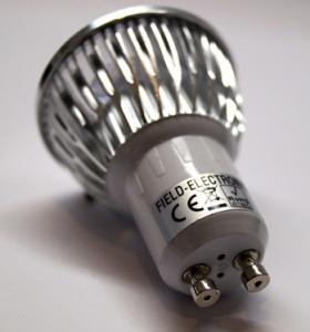 3W GU10 base led spot light Manufactures